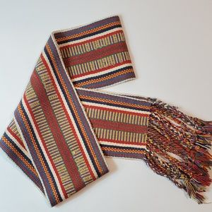 Multi Color Scarf Braided
